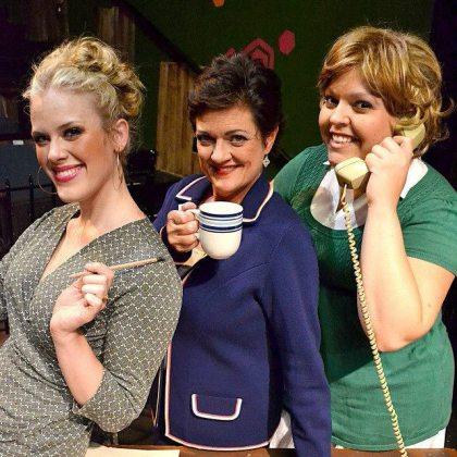 R-L: Me as Doralee, Chrisanne Seultz as Violet, Tanya Rasmussen as Judy -- my fellow 9 to 5 leading ladies!